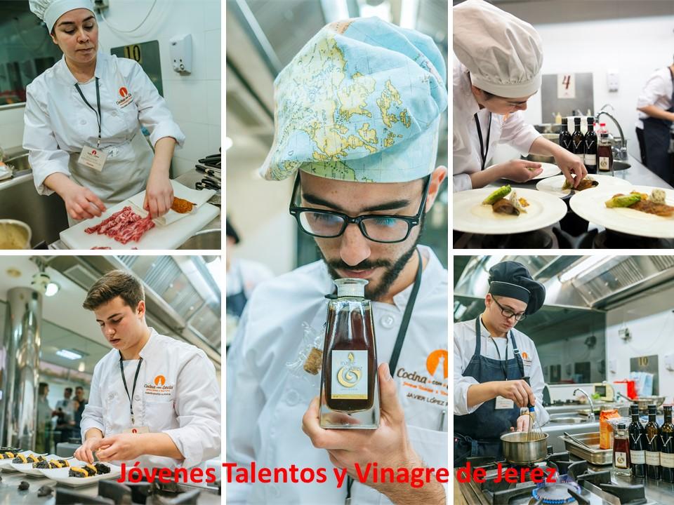 Discover Sherry recommends: Cocina con Esencia, La Final de Jovenes Talentos y Vinagre deJerez