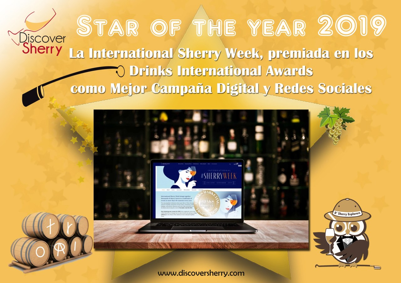 STAR OF THE YEAR 2019: INTERNATIONAL SHERRY WEEK