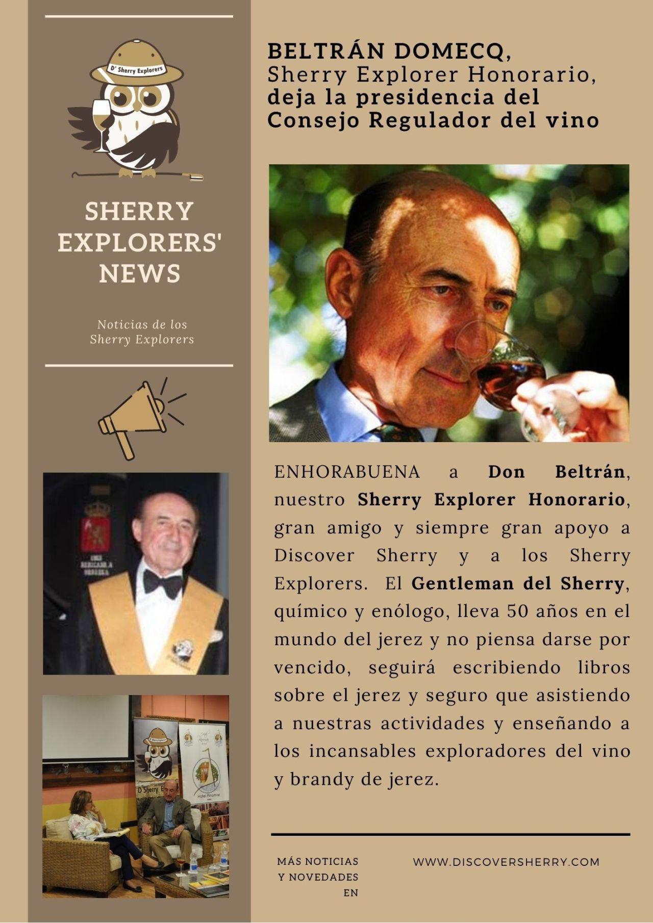 Sherry Explorers´ News: BeltránDomecq