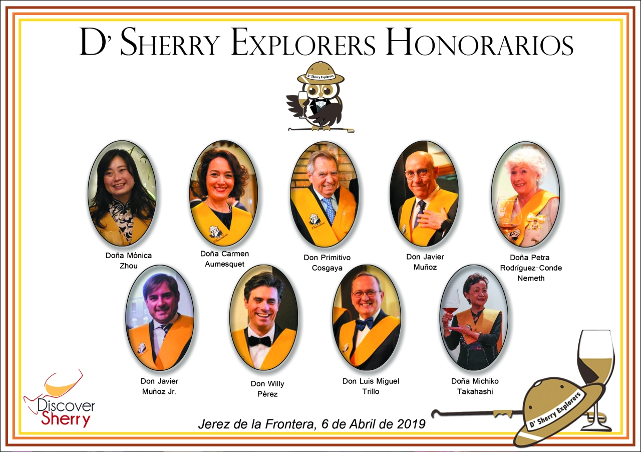 Sherry Explorers Honorarios 2019