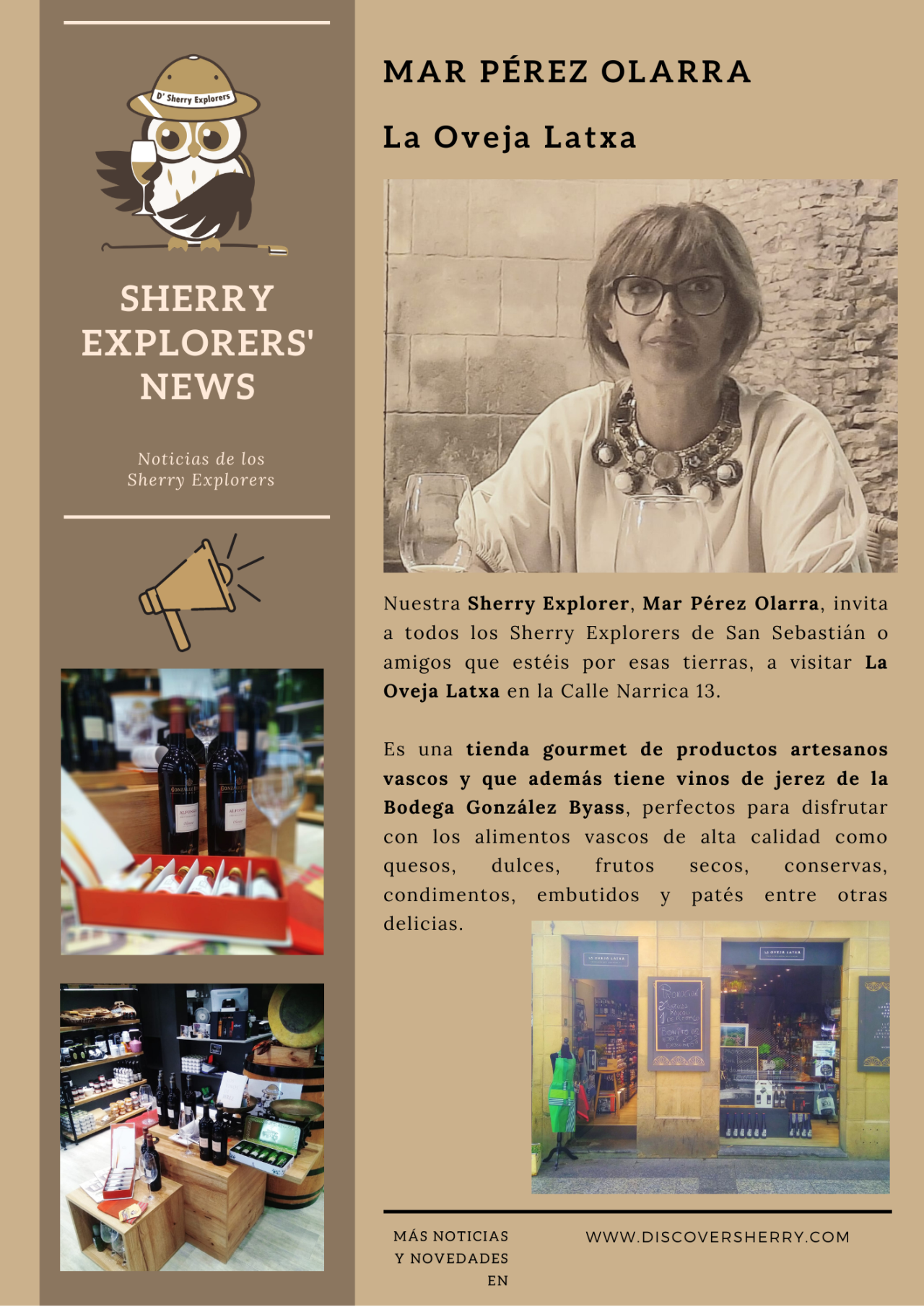 Sherry Explorers´ News: Mar Pérez Olarra