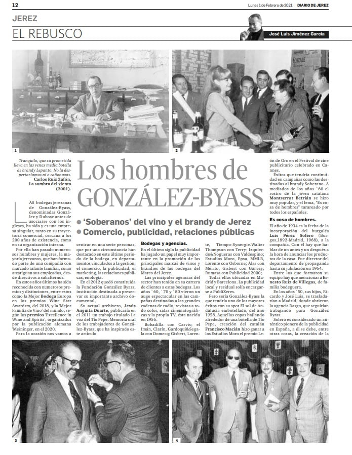 Los hombres de GonzálezByass