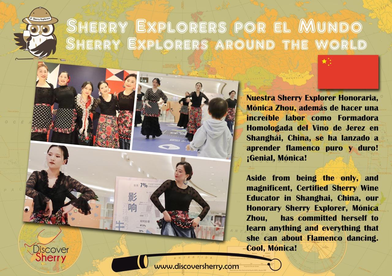 Sherry Explorers por el mundo: Mónica Zhou,Shanghái