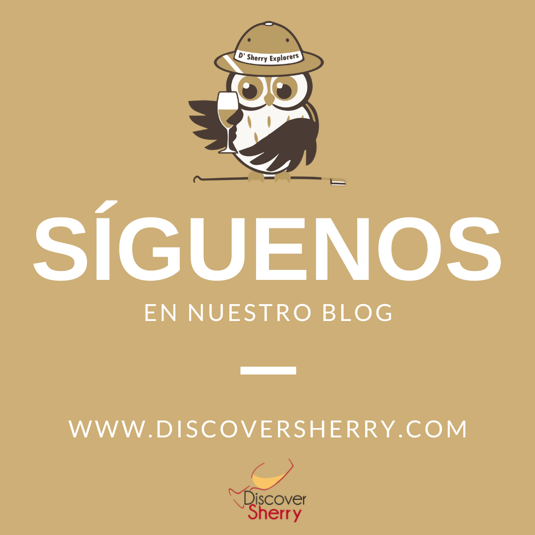 Los Sherry Explorers y Discover Sherry te invitamos a que nos sigas en nuestroblog