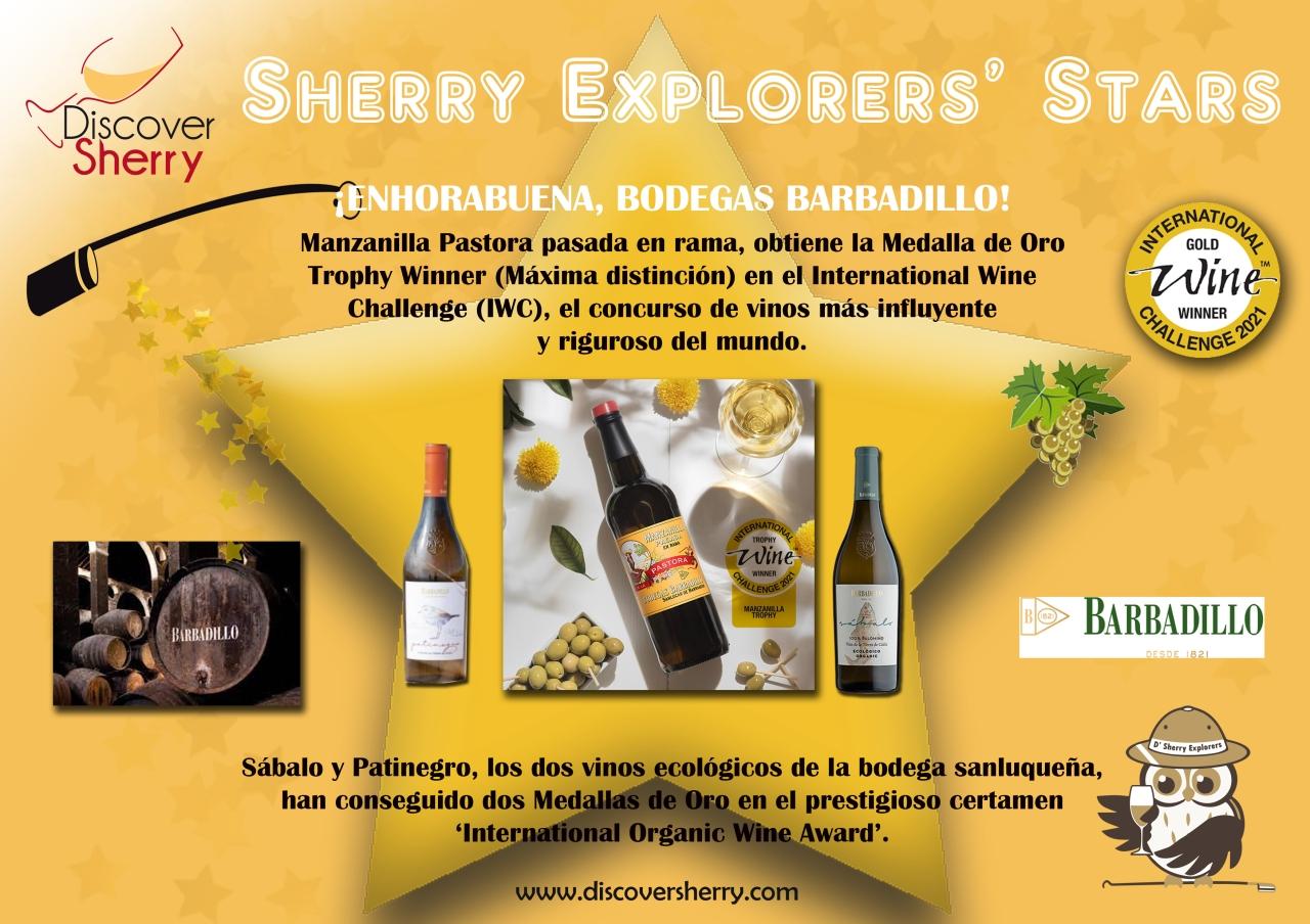 Sherry Explorers' Stars: Bodegas Barbadillo, International WineChallenge