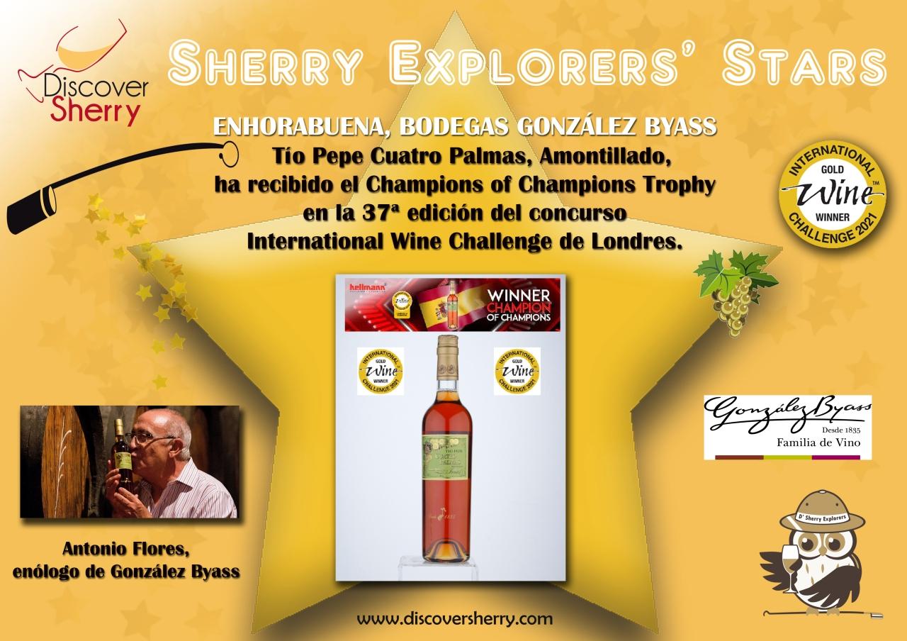 Sherry Explorers' Stars: Bodegas González Byass, International WineChallenge