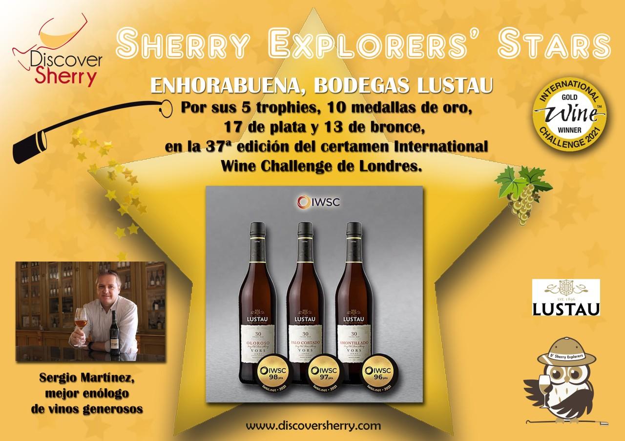 Sherry Explorers' Stars: Bodegas Lustau, International WineChallenge