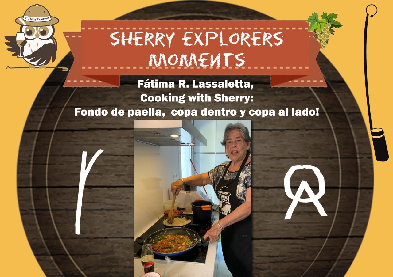 Sherry Explorers´ Moments: Fátima RuizLassaletta