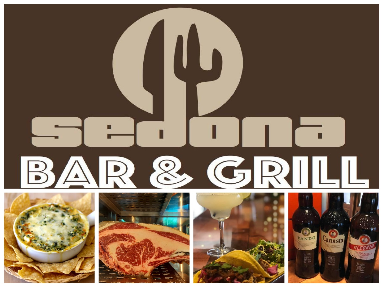 DISCOVER SHERRY  RECOMENDS:SEDONA,      Bar andGrill