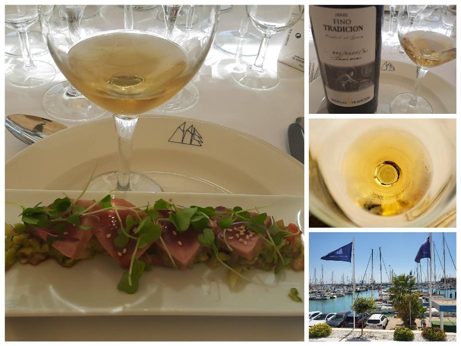 Cata Magistral Hotel Puerto Sherry. Vinos de BodegasTradición.