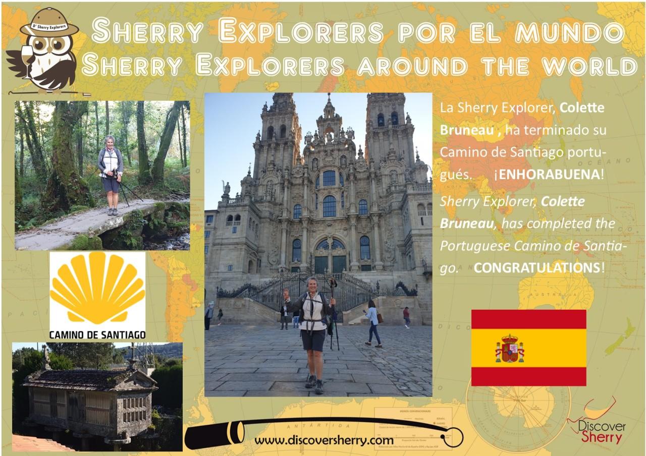 Sherry Explorers por el Mundo.  Sherry Explorers around theWorld.
