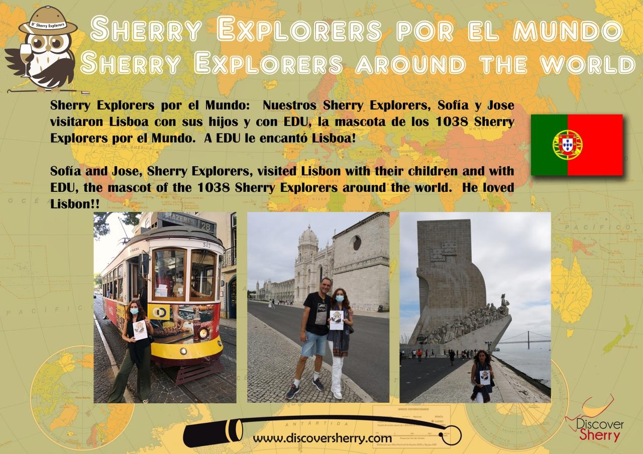Sherry Explorers por el Mundo:Lisboa