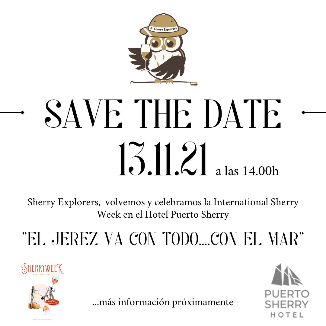Save the date: Sábado 13 denoviembre.