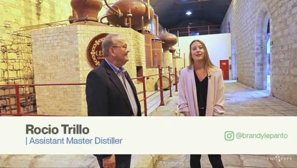 Discover Sherry comparte: Cata Brandy Lepanto con Luis Trillo, Sherry Explorer Honorario, y su hijaRocío
